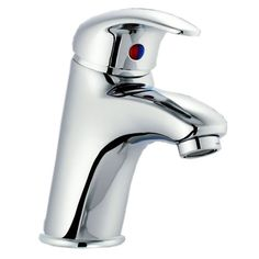 Chrome Single Lever Vessel Bathroom Lavatory Faucet