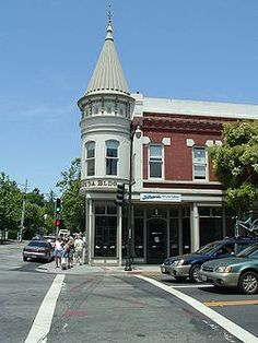 Los Gatos, California I went to jr college around here. So much fun to walk…