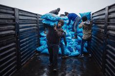 The UN also supplies aid to those who are affected by war and natural disaster....