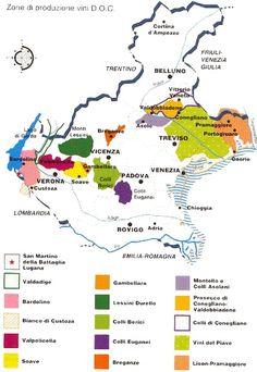 Veneto -- a wine region in north-eastern Italy renowned for Valpolicella, Amarone and also Prosecco and Soave