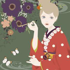 """""""kakizome"""" by Mari Katogi"""