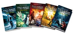 The Percy Jackson Series. That's my favourite.