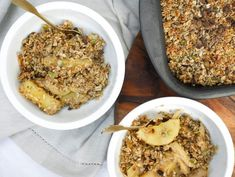Feijoa and Apple Crumble — Julia & Libby Paleo Baking, Peanut Butter Fudge, Pie Cake, Recipe Link, Something Sweet, Apple Recipes, Healthy Desserts, Fried Rice, Macaroni And Cheese