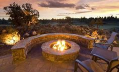Backyard bonfires