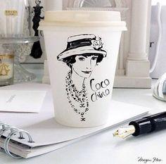 Monday Coffee by Megan Hess (http://meganhess.com/)