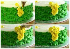 All Buttercream Flower Cake