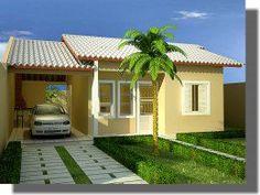 Telhados de casas: simples, pequenas, populares, fotos