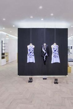Inside the Givenchy store at the IAPM mall in Shanghai. [Courtesy Photo]