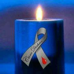 Diabetes candle