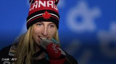 BADASS LAURIE BLOUIN WON SILVER AT WINTER GAMES 2018 IN THAT SOUTH-KOREA SPOT!!! YAY SWEET STONEHAM GIRL!!! ALL QUÉBEC IS FURIOUSLY PROUD OF YOU!!! :)