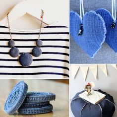 18 ways to upcycle your old jeans.