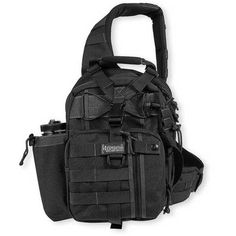 Maxpedition Noatak Gearslinger Black - Real Time - Diet, Exercise, Fitness, Finance You for Healthy articles ideas Nalgene Bottle, Hiking Backpack, Everyday Carry, Backpacker, Tactical Gear, Bushcraft, Just In Case, Gears, Diaper Bag