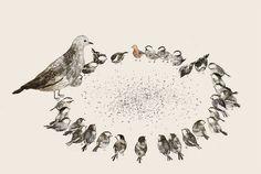 By Jon Klassen, author & illustrator  #art #journal