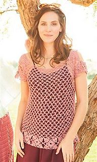 Topanga Tunic crochet pattern by Dora Ohrenstein.