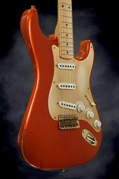 New Fender Custom Shop 1956 Relic Stratocaster - Candy Tangerine