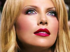 Charlize Theron. Love the makeup
