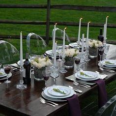 Dark Wood Farm Tables