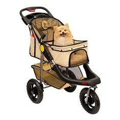 Folding 3 Wheel Dog Cat Pet Jogging Stroller Carrier