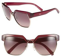 31e4f4cf55a Women s Sunglasses   Chloé  Dafne   60mm Gradient Sunglasses Sunglasses  Sale