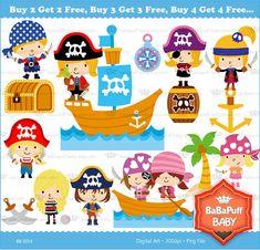 ¡¡¡Piratas para niños Y niñas!!!
