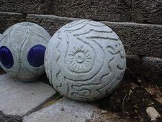 Concrete ball