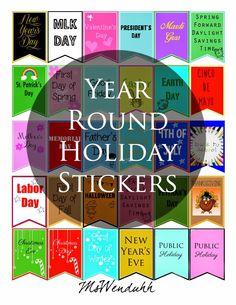 MsWenduhh Planning & Printing: Free Printable Stickers