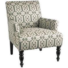Liliana Chair - Teal Ironwork