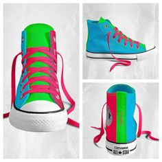 Dolores Neon Converse, Custom Converse, Converse All Star, Converse Shoes, Kicks Shoes, Shoes Heels, Pretty Shoes, Cute Shoes, Awesome Shoes