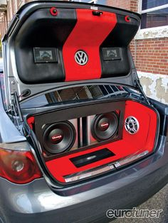 2006 Volkswagen Jetta Gli Trunk Audio Photo 4