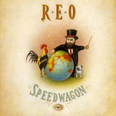 REO - The Earth, A Small Man, His Dog, And A Chicken album cover