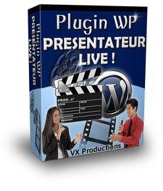 Plugin WP Présentateur Live - A découvrir très rapidement pour en bénéficier au meilleur prix !