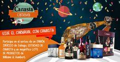 Participa en el sorteo de un jamón, estuches de Canasta y un magnífico lote de productos de Williams & Humbert.