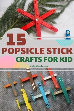 Popsicles are very cheap, durable, and whether you're collecting them after using or buying wooden craft sticks at the store. Popsicle sticks are so incredibly versatile to craft with, and what's interesting is that you can make some pretty useful stuff with them! #diycrafts #craftideas #popsiclestickcrafts #popsiclestick #craftsforkid