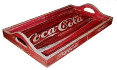 Bandeja Vintage Grande Coca Classic | PoisZé Artesanato | Elo7