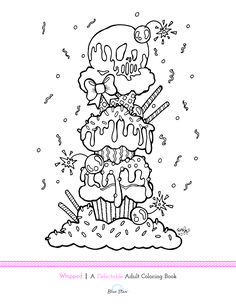 Free Coloring Page From Rudy Figs New Book Being Released On February 4th Cupcake PagesFood