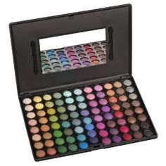 This makeup palette has highly pigmented shades; all shadows can also be applied wet for a deeper longer lasting effect. The compact case makes it easy for storing and traveling.  Only $18.95! What?