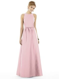 Wedding Party Fashion and Bridal Accessories | Weddington Way  ALFRED SUNG D707 in sateen twill | $206
