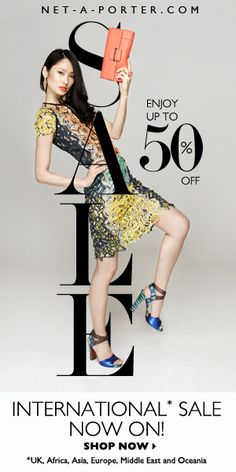 NET-A-PORTER.COM End of season Sale on on. Enjoy up to 50% off your favourite designers. Shop Now.