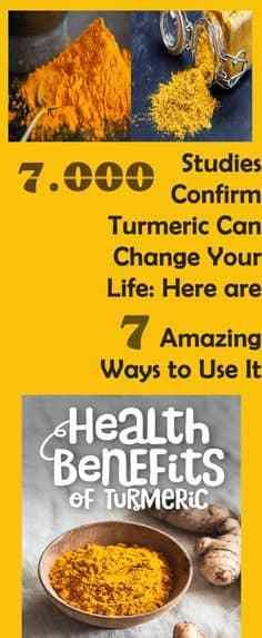 7000 Studies Confirm Turmeric Can Change Your Life: Here Are 7 Amazing Ways to Use It - Health Diy Beauty Turmeric Juice, Turmeric Smoothie, Turmeric Health Benefits, Healthy Drinks, Healthy Tips, Healthy Recipes, Healthy Food, Incredible Recipes, Amazing