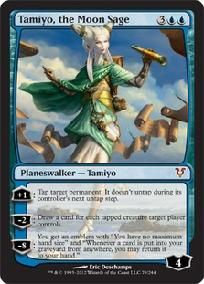 MTG Plainswalker Tamiyo, the Moon Sage & Emblem Avacyn Mythic Rare M CONDITION $29.99 FREE SHIPPING!!