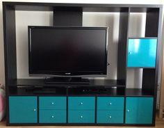 IKEA LAPPLAND Wohnwand, schwarzbraun,Fernseh-Schrank *super Zustand* Fernsehwand in in Großbeuthen | eBay