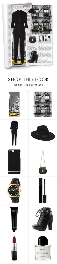 """Magazine📱"" by oksana-kolesnyk ❤ liked on Polyvore featuring Tomas Maier, Lack of Color, Chloé, Gucci, Bobbi Brown Cosmetics, Charlotte Russe, MAC Cosmetics and Byredo"