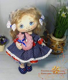 Купить Нюточка. Текстильная кукла. Авторская интерьерная кукла - текстильная кукла, текстильная кукла купить