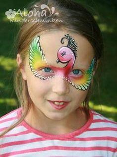 Das hätte meine Tochter sicher gerne nicht nur zum Fasching aber auch zm Geburtstag etc. Super Schminkvorlage für Kinder zum Fasching