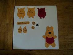 Juttas Bastelecke - das Kartenparadies: Punch Art - Winnie Pooh