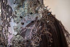 Gothic Princess corset details by Karolina Laskowska