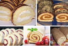 Быстрые рулетики к чаю - interesno.win Patisserie, Page 3, Cooking Games, French Toast, Muffins, Garlic Parmesan, Bread, Baking, Best Cookbooks