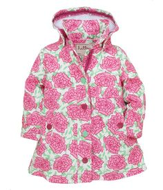 Hatley Splash Jacket - Splash in the rain with this cute raincoat! Features: Stylish gathers, front pockets and comfy terry Cute Raincoats, Rain Gear, Pink Roses, Men Casual, Plus Size, Shirt Dress, Hoodies, Stylish, Mens Tops