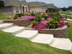 Steep Sloped Back Yard Landscaping Ideas | Sloped Front Yard Landscaping Pictures