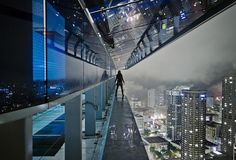 """""""Above"""" – Urban Rooftop and Skyline Photography by Aurelie Curie"""